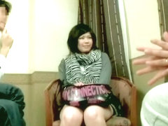 Cuddly Japanese dicked silly in Asian hardcore video