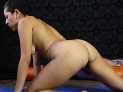 Amazing pornstar Feral Slut in crazy brazilian, masturbation sex clip