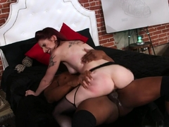 Crazy pornstars Prince Yahshua, Sheena Rose in Exotic Interracial, Redhead sex clip