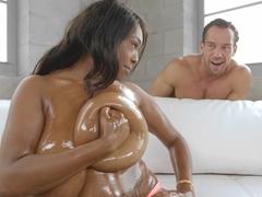 Exotic pornstars Johnny Castle, Rachel Raxxx in Hottest Big Tits, College xxx movie