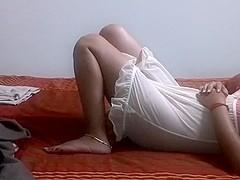 Outstanding Girlfriend's Cum-Hole engulfing n Team-Fucked Episode