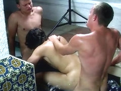 Skater Boy Gets Two Jock Cocks! - Jacob Marteny, Alex Andrews And Micah Andrews - TeachTwinks
