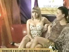 Hot sitting up skirt shot of slutty tv girls by a spy cam