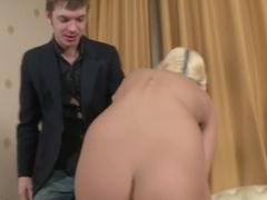 Crazy pornstar in hottest blonde, college adult movie