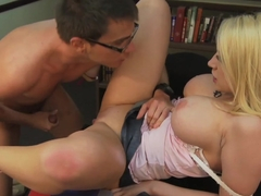 Incredible pornstar Kagney Linn Karter in Amazing Blonde, Big Tits xxx movie