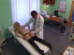 Amazing pornstar in Crazy Blonde, Medical porn scene