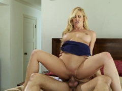 Exotic pornstars Danny Mountain, Cherie Deville in Crazy Big Tits, Blonde porn scene