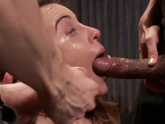Exotic fetish xxx scene with hottest pornstars Roxanne Rae, Mickey Mod and Owen Gray from Dungeons.