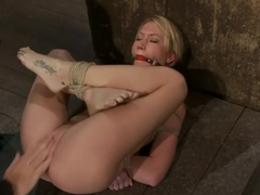 Madison Scott is Bound in a Traditional Japanese Torture PositionMake to Cum and Squirt.
