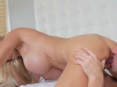 Exotic pornstar Brooke Tyler in Hottest Cunnilingus, Big Ass adult clip