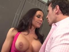 Crazy pornstar Kendra Lust in best blowjob, cumshots sex scene