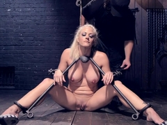 Blonde MILF Gets Devastated with Sensory Overload!!