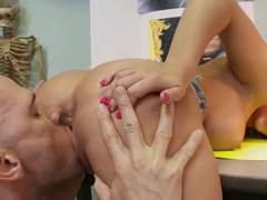 Alexis Monroe gets nailed by Johnny Sins