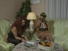 Bea Dumas Carol Bentley - 3some with 2 boys