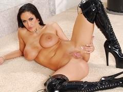 Carmella Bing having good time sucking hard cocks