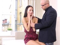 Amazing pornstars in Fabulous Brunette, Medium Tits porn scene