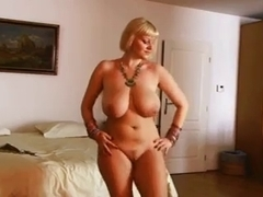 Breasty Stomach Dancer mother I'd like to fuck Undresses - Ameman
