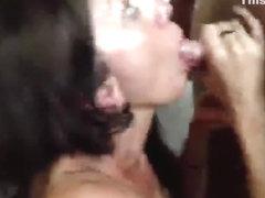 cum drinking wenchs