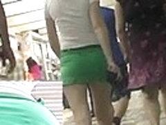 Up green petticoat