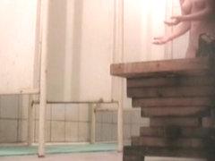 Hidden webcam shower clips three