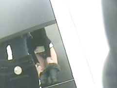 Clothes shop changing room video presents some naughty views