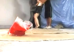 Porn video with sexy asian cunt plugged in a rough manner