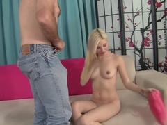 Horny pornstar Piper Perri in exotic college, blonde porn clip