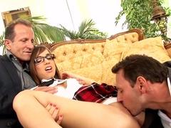 Incredible pornstar Tina Hot in crazy college, anal sex video