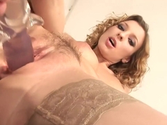 Incredible pornstar Morgan Moon in crazy facial, blonde xxx video