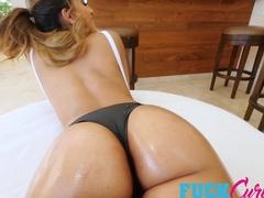 Sophia Leone in Curves, Cock and Cum