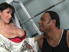Best pornstar Eva Karera in amazing big cocks, facial sex movie