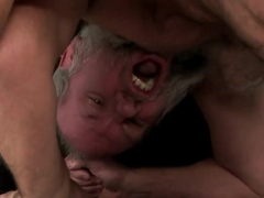 Brigitta has her young pussy ate by a old man