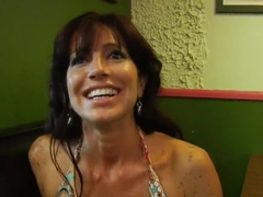 Seduction video of the amazing girl by an old pervert