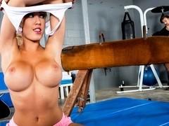 Gymnast Tits