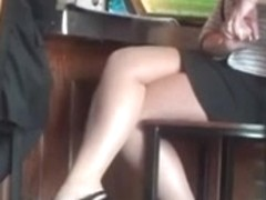 Play Time Dangling With Sexy Legs