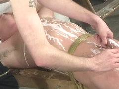 The Pleasure And Pain Of A Cock Edging - Cameron James And Kieron Knight - Boynapped