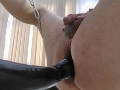 Milking hubby in our new Sling