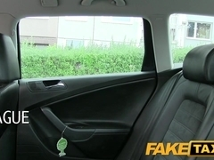 FakeTaxi: Hot legal age teenager with large natural boobs learns the hard way