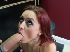 Karlie Montana gets teased and pounded in the bar