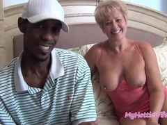 mature woman loves big black cock