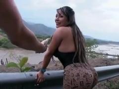 Hawt Massive Colombian Butt Screwed