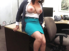 Big tits mom wants to sell her husbands collection to bail him