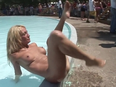 Best pornstar in hottest blonde, outdoor adult scene