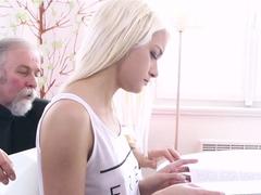 Horny pornstar in Incredible College, Blonde sex movie