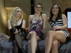 Exotic lesbian, fetish xxx movie with incredible pornstars Aiden Starr, Lux Leota and Sinn Sage from Whippedass