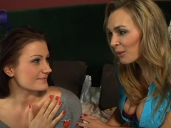 Exotic pornstars Tanya Tate and Carla Mai in crazy mature, lingerie xxx clip