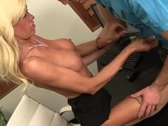 Fabulous pornstar Micki Lynn in amazing mature, lingerie xxx movie