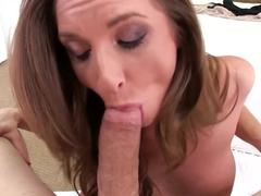 Fabulous pornstar Silvia Saige in Crazy Cumshots, Swallow porn clip