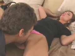 Naughty teen Lily Carter is having an amazing sex