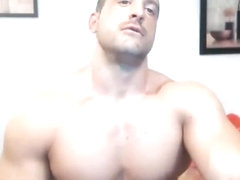 BIG ASS SPANISH FRANCMUSCLE WEBCAM SHOW PART 2